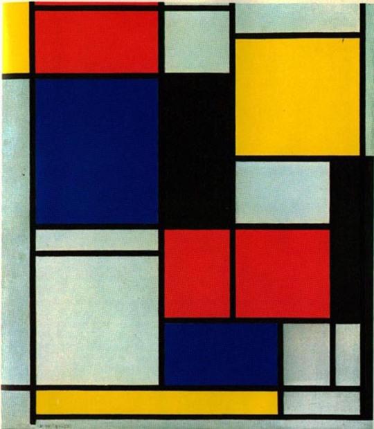 Mondrian, Tableau 11 1921-5
